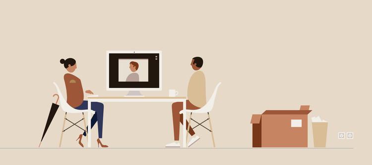 活动:聊天。 图片由Herman Miller提供
