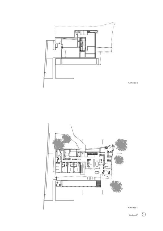 Casa Mare - 平面图