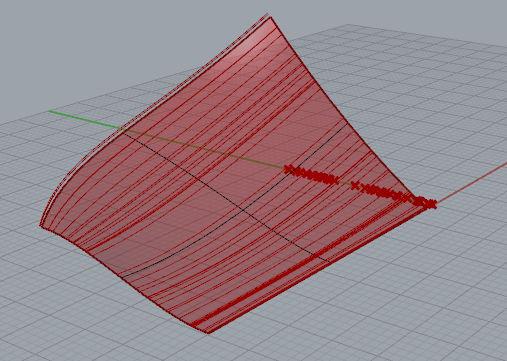 grasshopper随机在曲面上抽离结构线算法