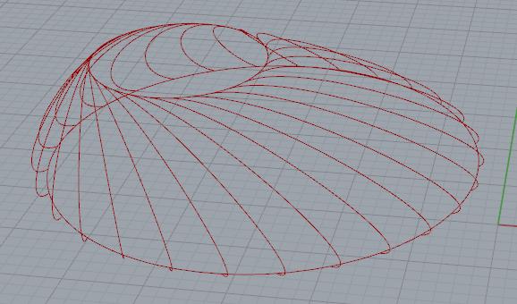 grasshopper 两点绘制贝塞尔曲线