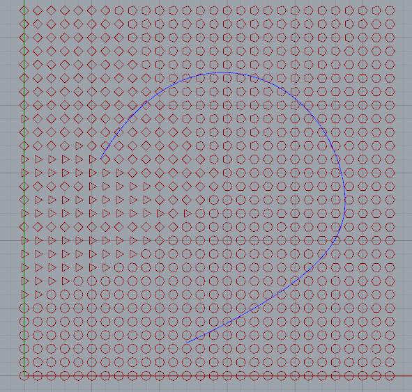 grasshopper按照曲线做排序的算法