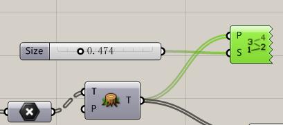 grasshopper中点阵生成曲面的算法